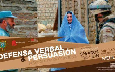 """Curso """"Defensa verbal y persuasión"""""""