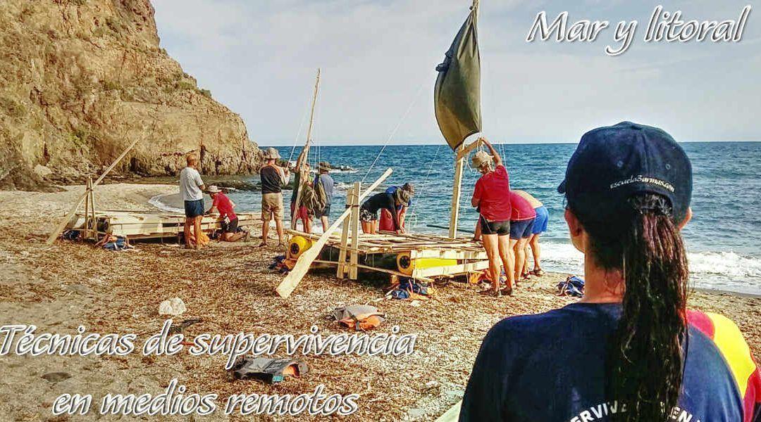 Curso técnicas de supervivencia en mar y litoral