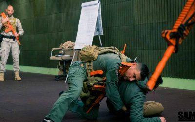 SAMI-X PRO: El sistema de intervención y combate cuerpo a cuerpo.